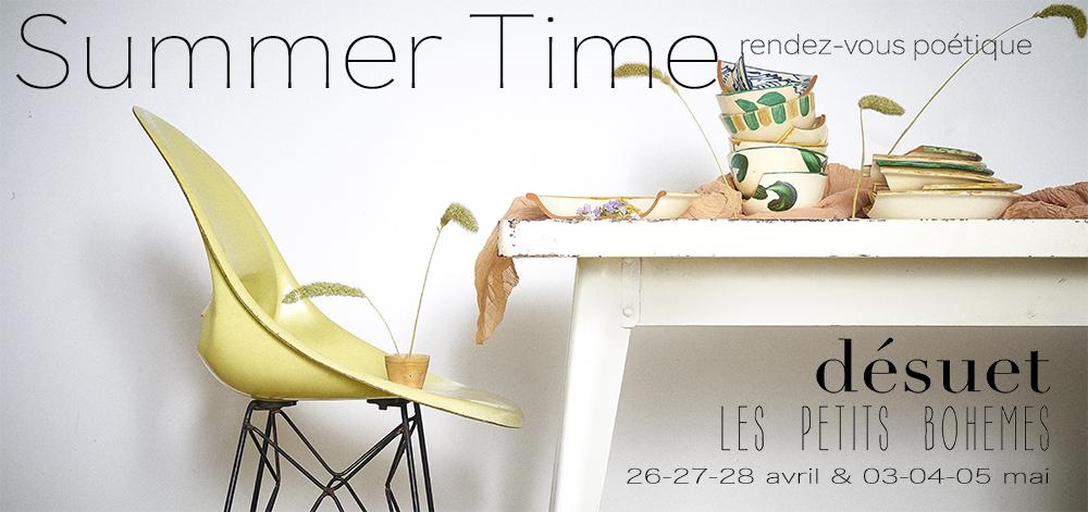 summer time rendez-vous poétique vente éphémère pop up store
