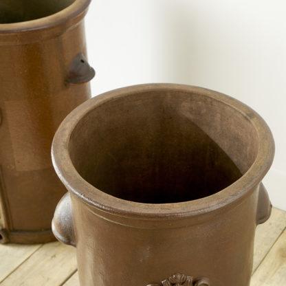 Large sandstone pots