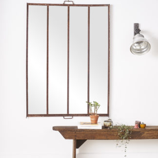 Industrial mirror window