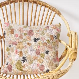 'Pastel terrazzo' cushion