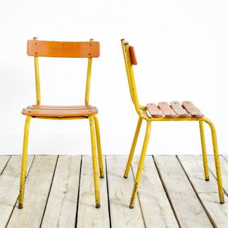 Pair of bistrot chairs