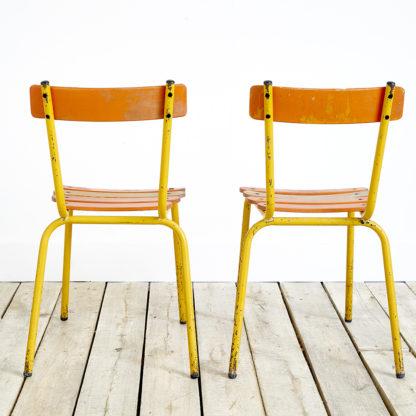 Paire de chaises bistro