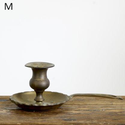 Ancien bougeoir en cuivre