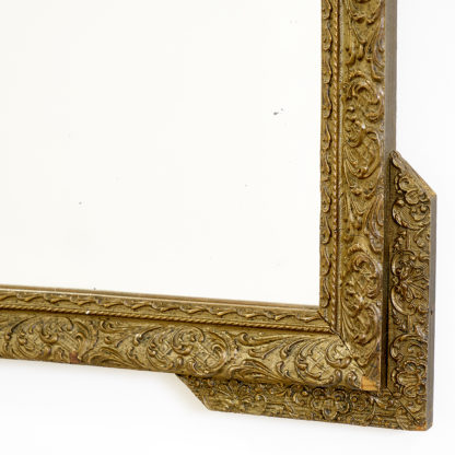 miroir ancien vieil or antique mirror