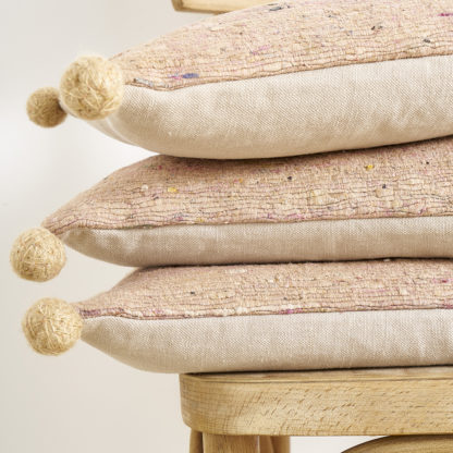 coussin soie sauvage NUDE