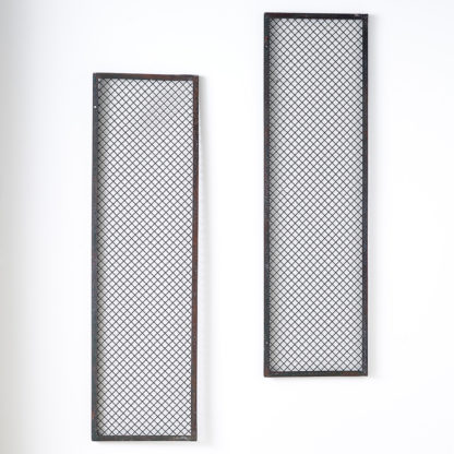 Anciennes grilles d'usine Duo de pêle-mêle