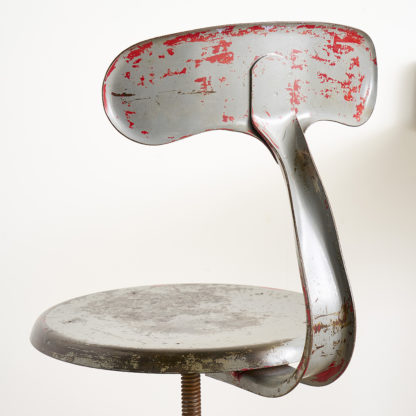 "Chaise ""Queue de Baleine"" industrielle Nicolle"