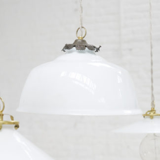 Opaline ceiling light