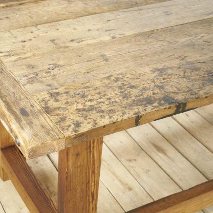 Table ancienne établi