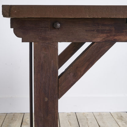 Ancient workshop hight table