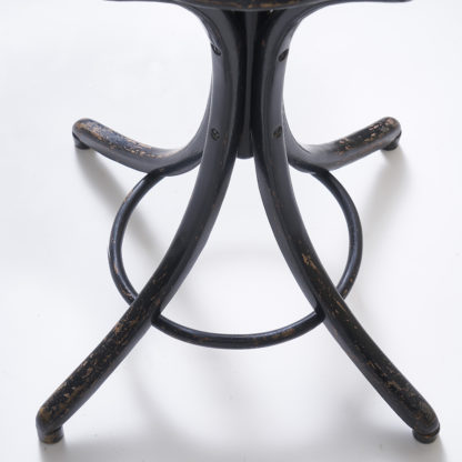 "Antique french Bistro coat stand in curved wood, ""Thonet"" style"