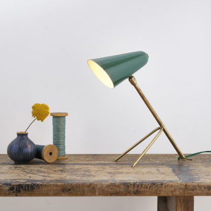 Vintage cocotte Lamp 50s 1950 desk