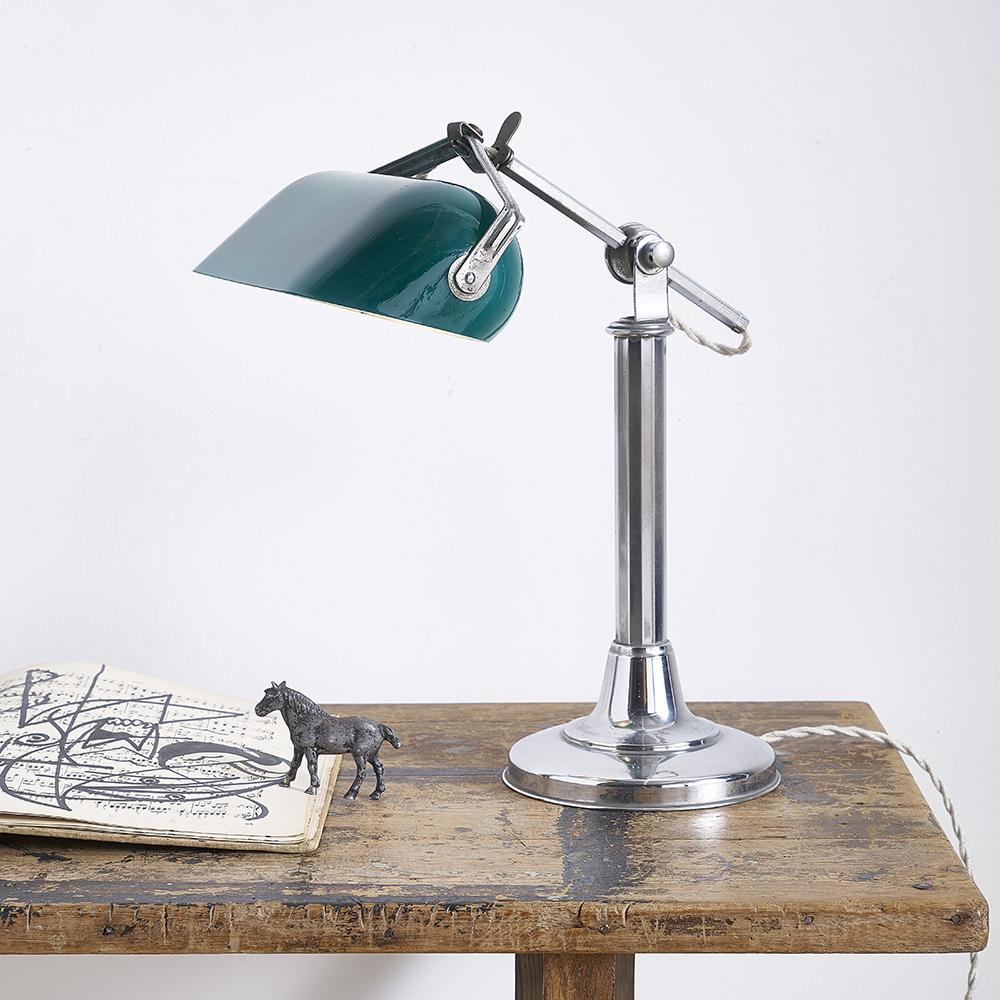 Lampe De Bureau 1930 Desuet Brocante Et Objet