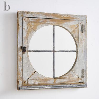 miroir fenêtre industriel pignon