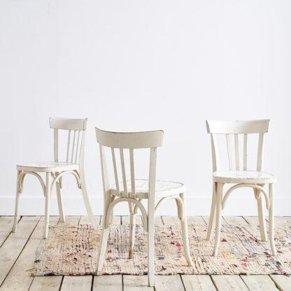 chaises de bistrot 'Fischel' en bois
