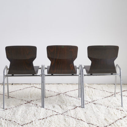 Chaises 'Eromes' Design scandinave.