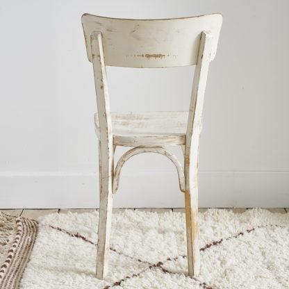 chaise de bistrot Baumann bois patiné