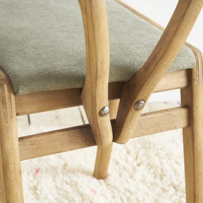 chaise vintage des années 50'