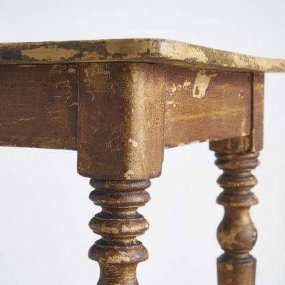 Table de bistrot pieds tournés