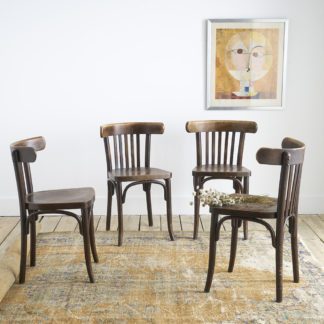 "Chaises ""Thonet"" bistrot"