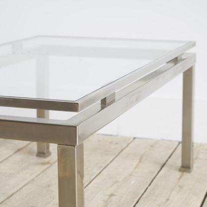 Petite table de salon Maison Jansen par Guy Lefèvre