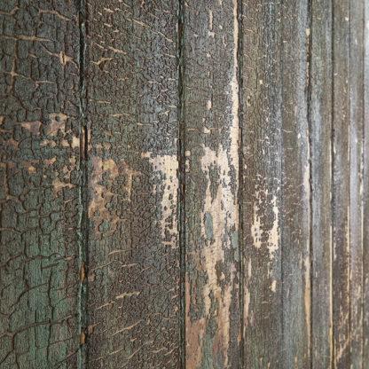 Ancienne porte coulissante d'usine