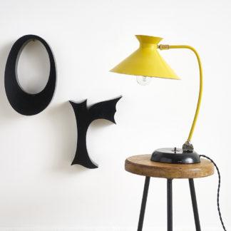 lampe de bureau des années 50 diabolo