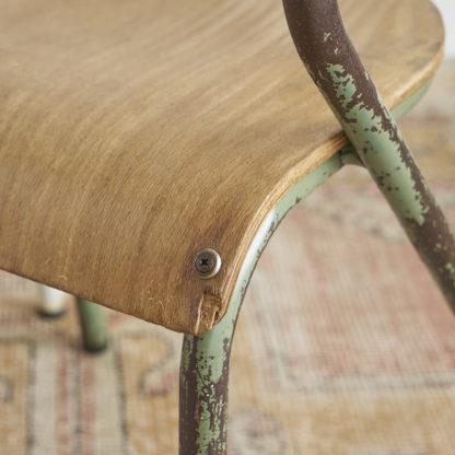 Petites chaises vintage Jacques Hitie