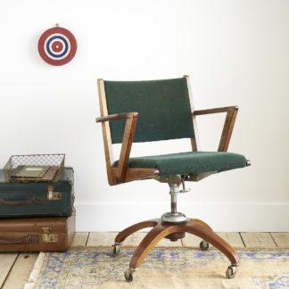 Ancien fauteuil de bureau des années 50'