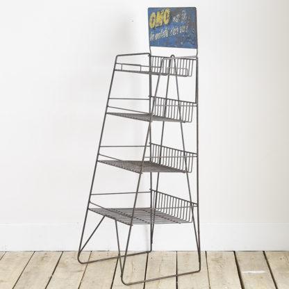 Ancien meuble d'étalage publicitaire Omo