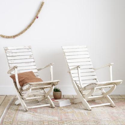 Duo de bains de soleil FAUTEUIL