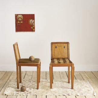 chaises de chambre des années 1930