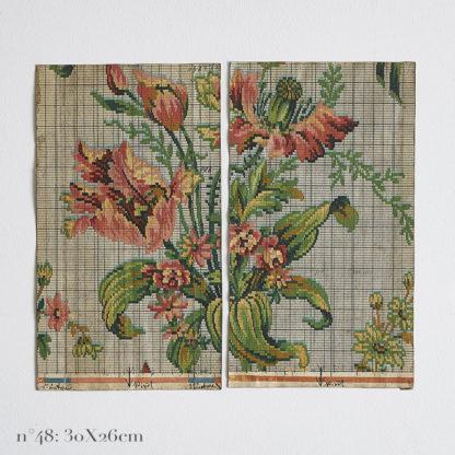 Etudes peintes à la main tapisserie anciennes