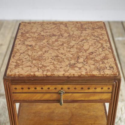 Chevet années 30 1930 table marbre