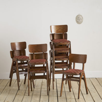 chaises anglaises des années 50 E.A Clare and Son