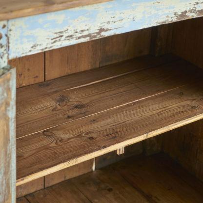 Ancien confiturier en bois patiné
