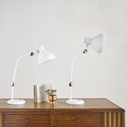 2 lampes de bureau Jumo GS1.