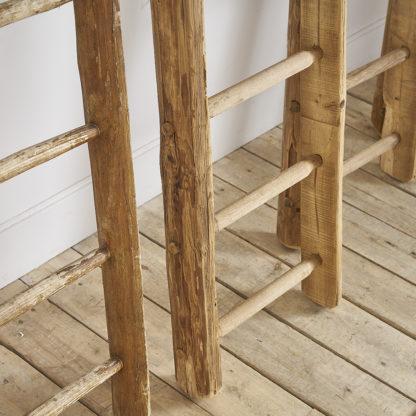 Echelles en bois