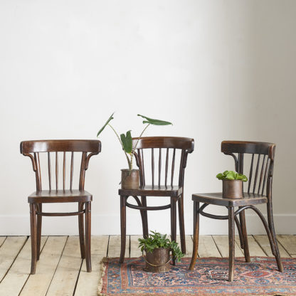 chaises bistrot thonet
