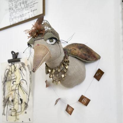 La liseuse de cartes trophy head bird birdie desaccord