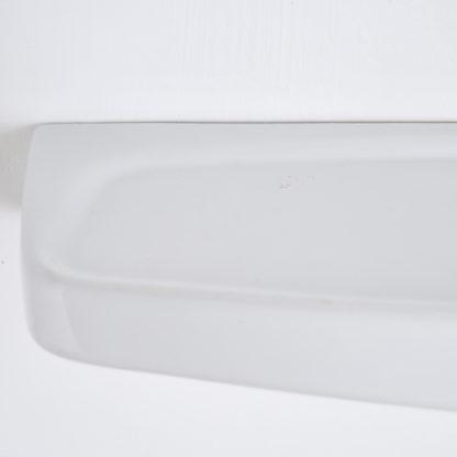 Etagère rétro en porcelaine blanche