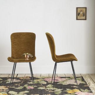 """Paire de chaises vintage """"talon aiguille"""""""