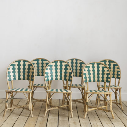 Chaises de bistrot terrasse