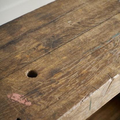 Ancien meuble de métier du milieu du siècle établi