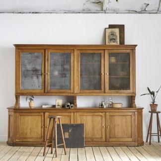 XIXème meuble double corps administration du début du siècle.
