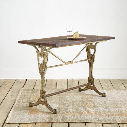 table de bistrot fonte balatum