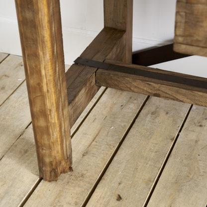 Ancien meuble de métier du milieu du siècle établi atelier