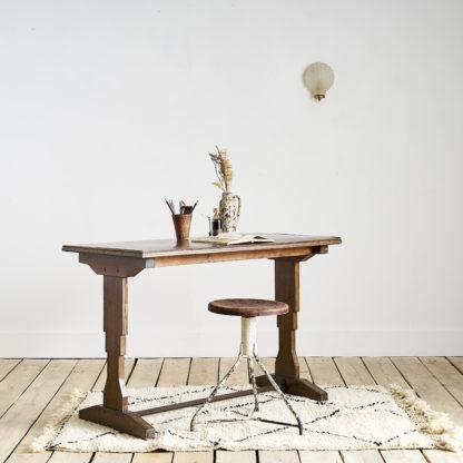 Ancienne table de bistrot Art déco.