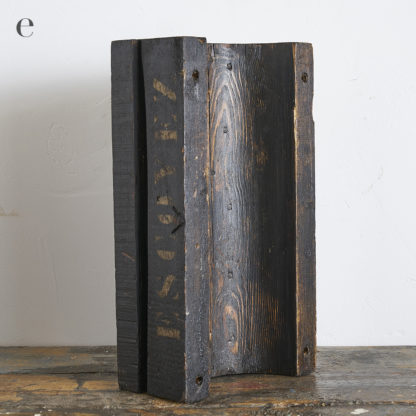 moules de fonderie en bois.