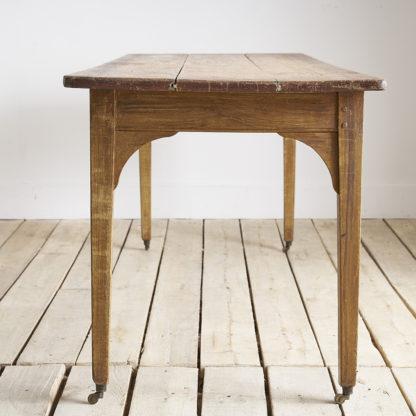 Grande table de bistrot